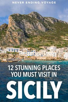 The 12 Best Places to Visit in Sicily: Western Sicily Highlights, TRAVEL, Here are 12 BEST places to visit in the stunning Sicily, Italy. Sicily Travel, Italy Travel Tips, Europe Travel Guide, Travel Checklist, Best Places To Travel, Cool Places To Visit, Places To Go, Europe Places, Italy Destinations