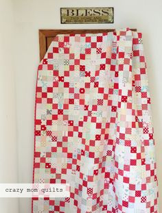 crazy mom quilts: the subtle quilt from Amanda Jean's new book, No Scrap Left Behind