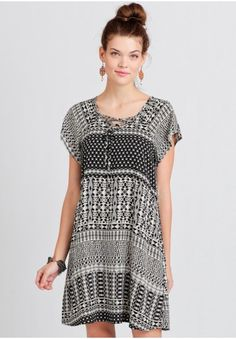 Jalouse Printed Dress   Modern Vintage Dresses   Modern Vintage Clothing   Ruche