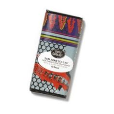 From the label: The perfect blend of sweet and salty, this new truffle bar boasts all-natural ingredients, a smooth meltaway center and a milk chocolate shell. Crunchy toffee and sea salt in decadent milk chocolate.