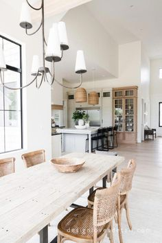 Dark, light, oak, maple, cherry cabinetry and wood kitchen cabinets with gray countertops. CHECK THE IMAGE for Lots of Wood Kitchen Cabinets. Classic Kitchen, Farmhouse Style Kitchen, Modern Farmhouse Kitchens, Home Decor Kitchen, Kitchen Interior, Home Kitchens, Kitchen Modern, Room Kitchen, Kitchen Ideas