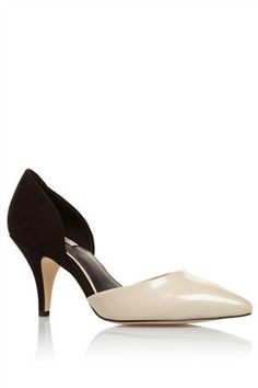 Buy Mono Two Part Point Court Shoes from the Next UK online shop