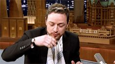 James McAvoy — chewbacca:    That's the main thing that attracts...
