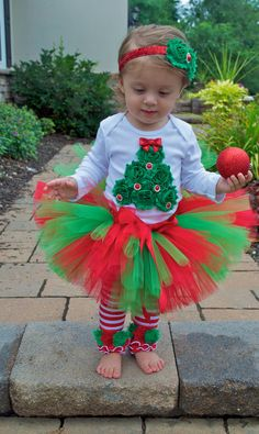 Tutu Outfit, Cake Smash, Birthday Outfit, Christmas Tutu, My Christmas… Kids Christmas Outfits, Christmas Tutu, Christmas Crafts, Baby Tutu, Baby Dress, Toddler Girl Outfits, Kids Outfits, Toddler Girls, Reborn Toddler Dolls