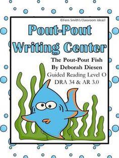 Pout-Pout Fish Ocean Writing Center for Common Core #TPT $Paid