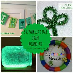 St. Patrick's Day Craft Round-Up http://www.thisflourishinglife.com/2013/03/st-patricks-day-craft-round-up.html