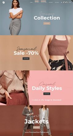 Buy Rigid - WooCommerce Theme for Enhanced Shops and Multi Vendor Marketplaces by AlThemist on ThemeForest. Compatible with the latest WooCommerce versions and latest WC Marketplace, WC Vendors FREE/PRO and Dokan LITE/P. Fashion Website Design, Fashion Graphic Design, Website Design Inspiration, Ad Design, Modern Design, Design Layouts, Clean Design, Design Ideas, Template Web