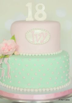 palermo 18th fondant cakes
