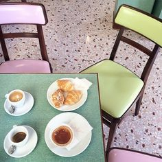 Vogue: Wes Anderson Bar Luce - Milan