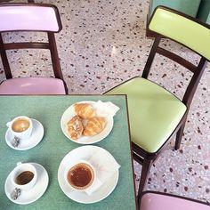 Wes Anderson's Bar Luce | Milan | Prada | Photography by @elenabraghieri