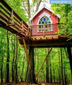 Luxury Tree House In Ohio To Soak In Some Fresh Natural Air.
