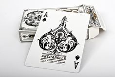 Ginger Monkey – Archangels – Bicycle Playing Cards