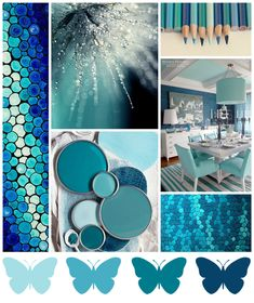 Butterfly Reflections, Ink.: January Mood Board