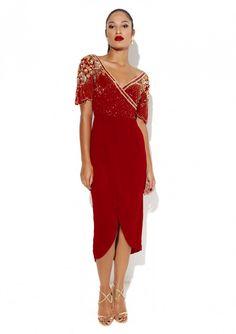 Julisa Dress Red - Virgos Lounge