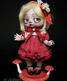 Nathalie Fatalis. Art doll by Julien Martinez