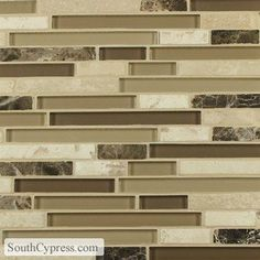 Golden Select Mosaic Wall Tiles Mediterranean Kitchen