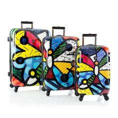Heys 160496912S3 Britto Butterfly  3 Pieces Set -- This is an Amazon Affiliate link. Check out the image by visiting the link.
