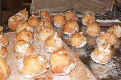 Cooked bread ball!  #baking, #artisanbread, #brickoven, #woodfired, #breadoven, #breadball, #dough, #artisan, #holidays, #christmas, #food