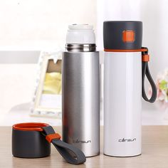 480mlThermos Cup thermo mug Insulated Stainless Steel bottle Thermoes Coffee Cups Drinkware Vacuum Flask Cup For Travel Mug