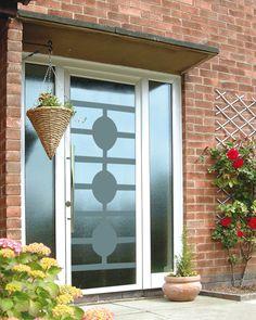 Дверь в деревянный дом Calida Glass
