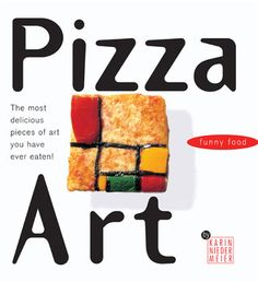 Pizza Art: The most delicious pieces of art you have ever eaten! Pizza Art, Food Humor, Book Art, Art Pieces, Baking, Eat, Pizza, Artworks, Bakken
