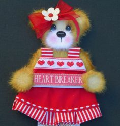 TWAG*DEBBIE*VALENTINE BABY GIRL TEAR BEAR PAPER PIECE PREMADE PAGES CARD ALBUM