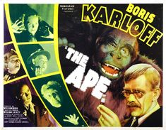 Image result for classic monster movie posters