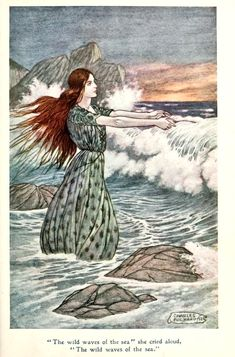 Jolly Calle and other Swedish Fairy Tales by Helena Nyblom illustrated by Charles Folkard. Charles James Folkard (6 April 1878 – 26 February 1963) was an English illustrator. He worked as a conjurer before becoming a prolific illustrator of children's books.