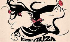 Tančící dům výstaví erotické kresby Kájy Saudka Tattoo Inspiration, Image Search, Rooster, Comic Books, Cartoon, Bird, Black And White, Gallery, Cats