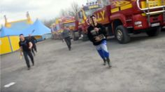 Circus workers attack animal rights activists & police (VIDEO)  http://pronewsonline.com/pronews-blog  © John Rooney