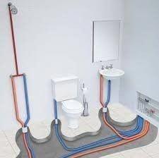 Low Water Pressure іn Home Bathroom Layout, Bathroom Interior Design, Small Bathroom, Bathroom Dimensions, Heating And Plumbing, Plumbing Installation, Bathroom Plumbing, House Plans, House Design