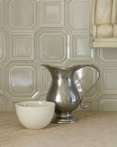 Ann Sacks Tile Backsplash | Classic... with a twist: Glazed Tiles: Client Project Update