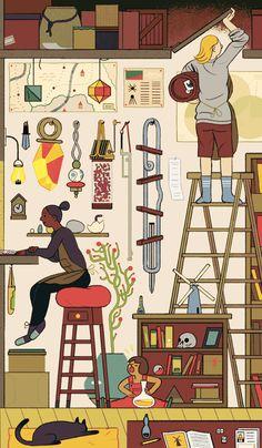 Illustration by Sophia Foster-Dimino, via Badass Lady Creatives