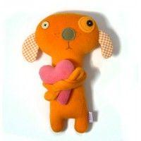 zabawki - misie i maskotki Psiak z Sercem