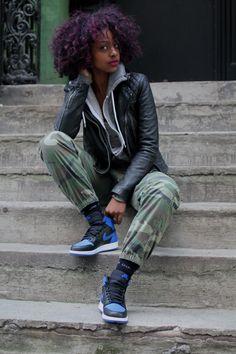 fashionjunki:  dopest-ethiopian:  justineskye:  Taken By: Glyn Brown  Justine is so bad.  too bad.