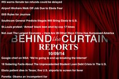 Behind The Curtain Reports 10-09-14 INFOWARS.COM  BECAUSE THERE'S A WAR ON FOR YOUR MIND