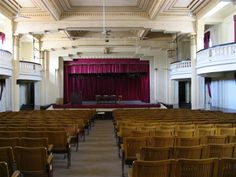 Teatro do Liceu Al Horreya ou Liceu Francês em Alexandria, no Egito.  Fotografia: Alexknight12.