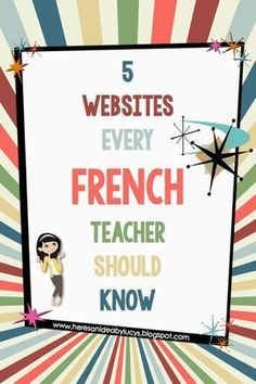 Here's an idea: Free French eBook and 5 French websites every French teachers sh. - Here's an idea: Free French eBook and 5 French websites every French teachers should know! French Flashcards, French Worksheets, French Language Lessons, French Language Learning, Spanish Lessons, Spanish Language, German Language, Foreign Language, Dual Language
