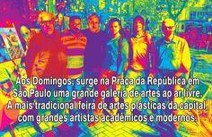 Pop Art Fredo Lima: Feira de Artes Plásticas da Praça da República, ao...