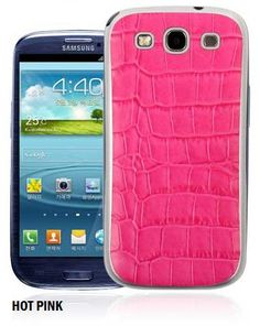 Comodo Crocodile Skin Texture Korean Smartphone Back Case for Galaxy S3
