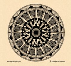 i have a thing for compasses (and mandalas)