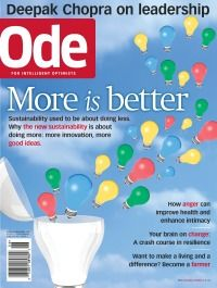 Ode Magazine - News for Intelligent Optimists