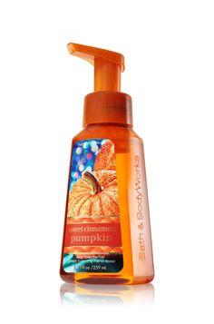 Sweet Cinnamon Pumpkin Gentle Foaming Hand Soap - Anti-Bacterial - Bath & Body Works