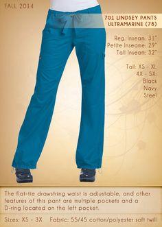 701 LINDSEY Pants | 701-78 (Ultramarine)