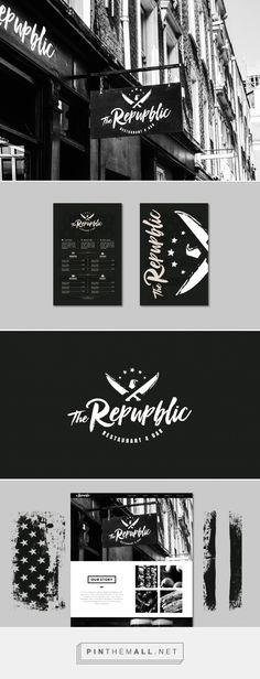 The Republic Restaurant Branding and Menu Design by Shane Wilson at Fivestar Branding