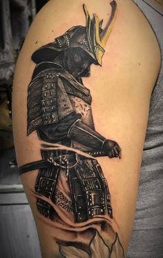 Samurai Tattoo on the arm - Samurai Man Tattoo- Tattoo Samurai sul braccio – Tatuaggio Uomo Samurai Samurai Tattoo on the arm – Samurai Man Tattoo - Samurai Tattoo Sleeve, Samurai Warrior Tattoo, Wolf Tattoo Sleeve, Warrior Tattoos, Best Sleeve Tattoos, Tattoo Sleeve Designs, Tribal Arm Tattoos, Cool Forearm Tattoos, Leg Tattoos