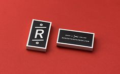Roger The Barber - Business Cards