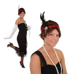 the ladies will look fabulous in the flapper headbands flapper costume flapper party