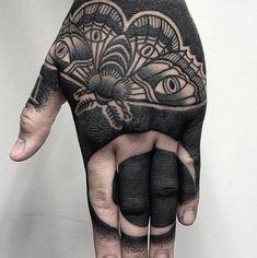 Moth Tattoo By Mr Tumaru