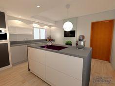 Ontwerp & visualisatie woonhuis met een eigentijds interieur.